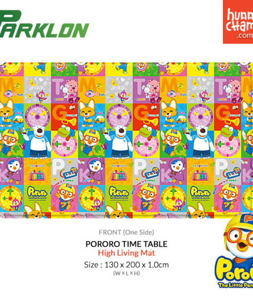 Parklon Hi Living Mat – Pororo Timetable
