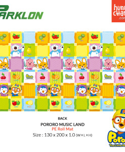 Pororo PE Roll Mat Music Land - Back
