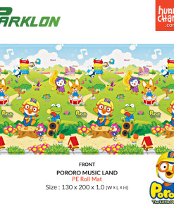 Pororo PE Roll Mat Music Land