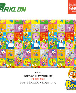 Pororo PE Roll Mat Play With Me - Back