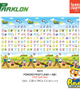 Parklon Soft Mat Pororo Fruit Land ABC – Back