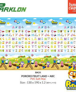 Parklon Soft Mat Pororo Fruit Land ABC - Back