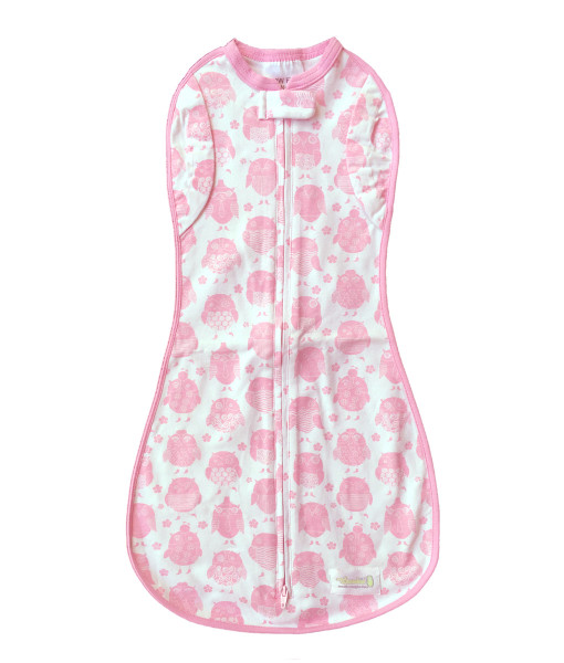 Woombie Convertible Pink Owls